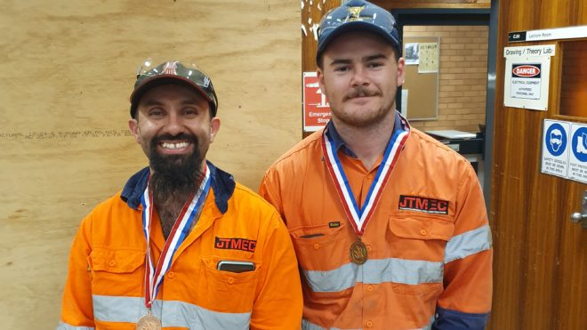 JTMEC apprentices take out the competition