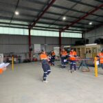 Safety First - Presenting a Toolbox in Orange